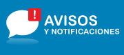 Avisos y Notificaciones